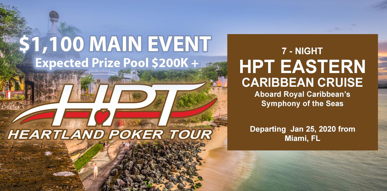 Heartland Poker Tour Schedule 2020 7 Night HPT Eastern Caribbean Cruise | Card Player Cruises